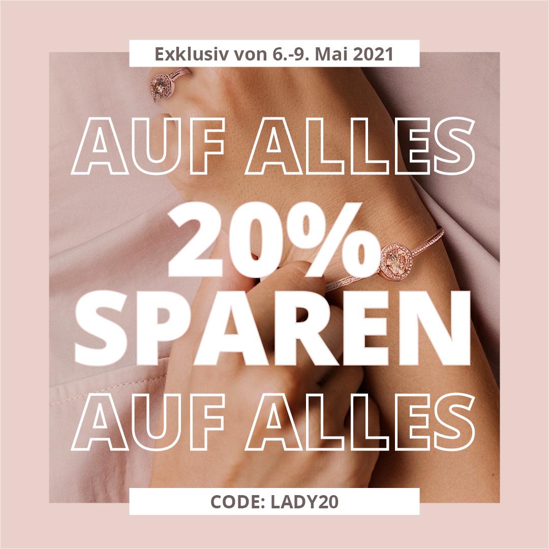 20% sparen auf Schmuck, Handtaschen & Uhren