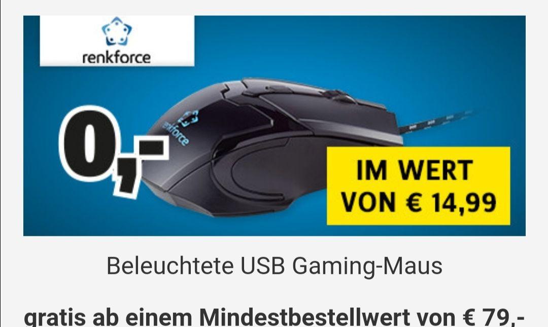 Geschenk USB-Gaming-Maus