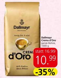 SPAR: Dallmayr Crema d'Oro + 25% Pickerl