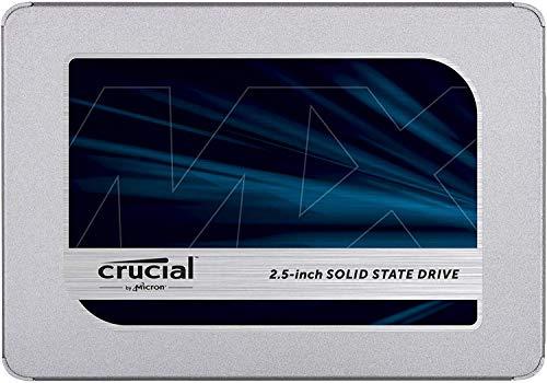 Crucial MX500 CT500MX500SSD1 (Z) 500GB (3D NAND, SATA, 2.5 Inch, Internal SSD) - Amazon