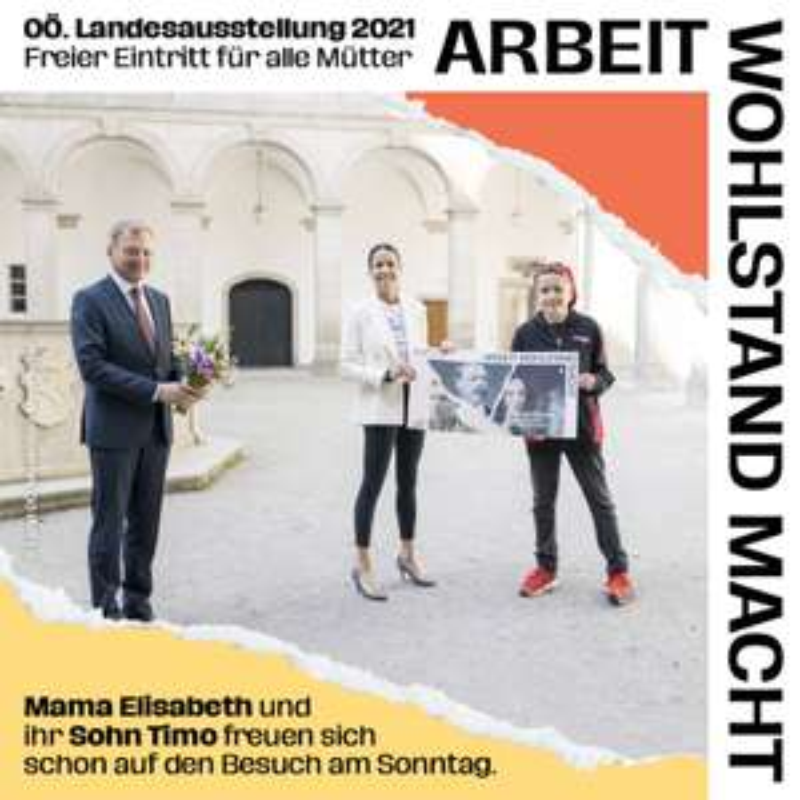 (Steyr) GRATIS Eintritt für alle Mütter: Innerberger Stadel + Museum Arbeitswelt + Schloss Lamberg