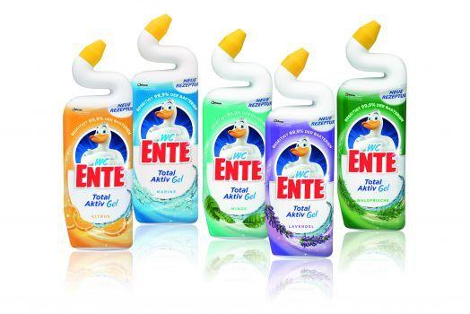 WC-Ente Total Aktiv Gel mit Cashback