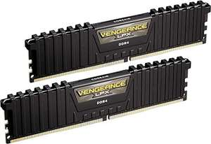 Corsair Vengeance LPX, DIMM Kit 16GB, DDR4-3000, CL15-17-17-35