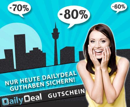 25€ DailyDeal Guthaben ab 12€ - Schnell zugreifen! *Update*
