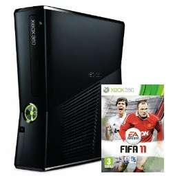 XBox-Bundle bei Amazon UK: XBox 360 Slim Arcade + FIFA 11 für 176€