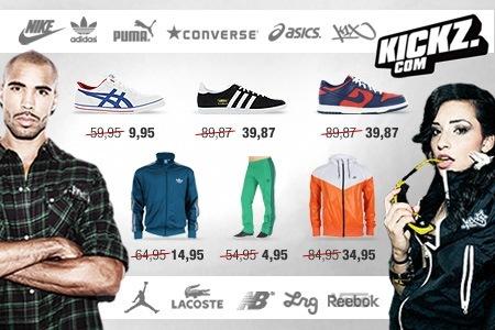 31€ Rabatt auf Markenschuhe und Klamotten mit KICKZ Gutschein *UPDATE* Wieder da