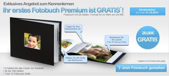 Empfehlenswert: Hochwertiges Fotobuch (A4, 26 Seiten) für 5€ statt 35€! *Update* Wieder da