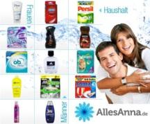 """25€ Gutschein für Online-Drogerie """"AllesAnna.de"""" für 15€ (bzw. ab 9€ für DD-Neukunden)"""