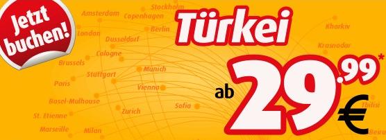 Nach Istanbul fliegen für 59,98€ - hin und retour