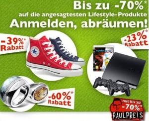 SpeedDeal: 40€ Pauldirekt-Gutschein für 20€