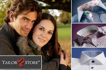 35€ Rabatt auf Maßhemden, Polos und Chinohosen bei Tailor Store