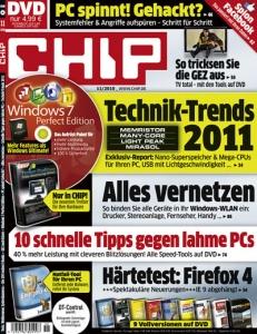 3 Ausgabe Chip (mit DVD) kostenlos und ohne Kündigung