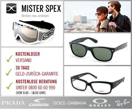 20€ brands4friends Gutschein ab 4€ und 30€ Mister Spex Gutschein ab 9€