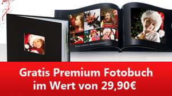 Genial: Komplett kostenlose Premium Fotobuch von Photobox - inkl. Versand