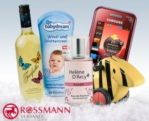 20€ Rossmann Gutschein (Onlinedrogerie) für 10€ (wird sofort per Mail verschickt)