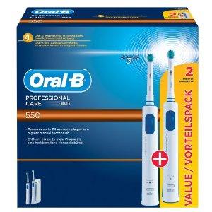 Oral-B Professional Care 550 für 29,99€ (Vorteilspack mit 2ter Zahnbürste)