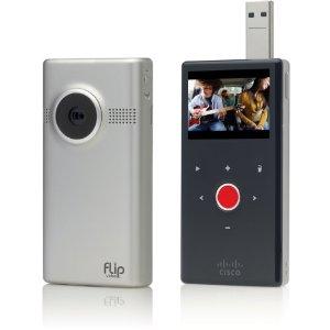 Flip MinoHD Pocket-Camcorder 4GB + gratis Stativ für 99€