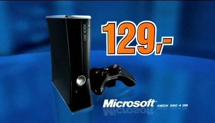 XBox 360 Arcade Slim für 129€ statt 170€ bei Saturn Österreich