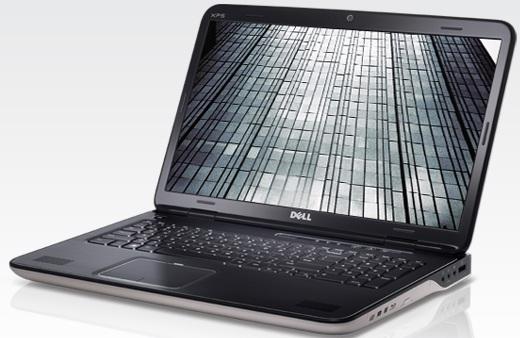 Gamer-Notebook: Dell XPS 17 (Core i7-740QM, GeForce GT 445M, 4GB, Win7 64Bit) für 865€
