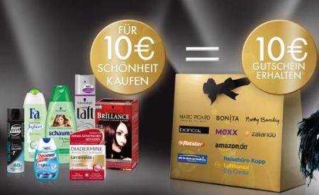 10€ Gutschein (Amazon, ...) für jeden 10€ Kauf (Schwarzkopf & Henkel) *Update*