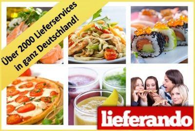 12€ lieferando Gutschein für 4€ - Pizza, Sushi, etc. direkt vor die Tür *UPDATE* ausverkauft