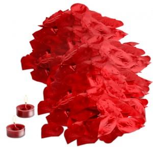 Rosenblüten Set zum Valentinstag für 0,47 Euro inkl. Versand