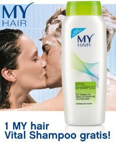 """Gratis """"MY hair Vital"""" Shampoo bei Bipa mit Gutschein"""