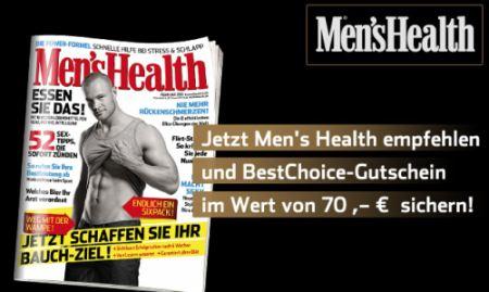 2 Jahre Men's Health für 0,50€ monatlich - mit Kündigungsvorlage