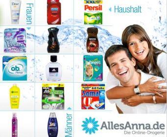 """Speeddeal: 33% auf das Sortiment der Online-Drogerie """"AllesAnna.de"""" *UPDATE* beendet"""