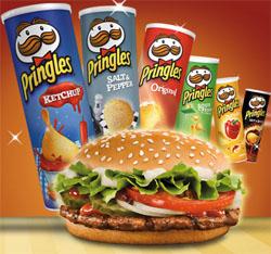 Gratis Big Mac zu jedem McMenü und Whopper Gutscheine in Pringles Dosen