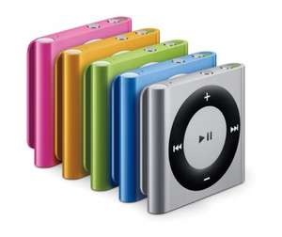 Apple iPod Shuffle 2GB (4. Generation) für 38€ als Ebay WOW