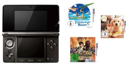 Nintendo 3DS + gratis Spiel für 258€ *Update* Jetzt bei Amazon.fr