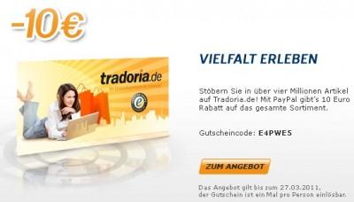10€ Tradoria Gutschein mit 20€ MBW: Günstige Bücher und vieles mehr *Update*