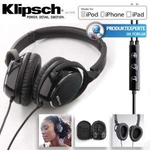"Klipsch Image One ab 76€ - ""On-Ear"" Kopfhörer speziell für iPod, iPhone, iPad"