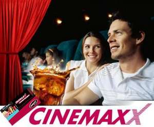 CinemaxX Kinoticket inkl. Softdrink 0.5l für 7,50€ *Update*