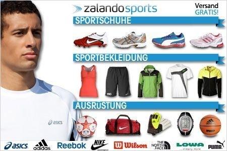 Zalando Sports Gutschein: 50€ für 19€ mit 59€ Mindestbestellwert