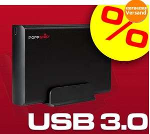 """Poppstar 3,5"""" 2TB externe Festplatte mit USB 3.0 für 78€ *Update* Jetzt mit verbauter Samsung HD204UI"""