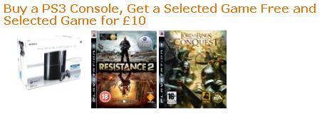 [PS3] Neues PlayStation 3 Bundle von Amazon.co.uk für 320€