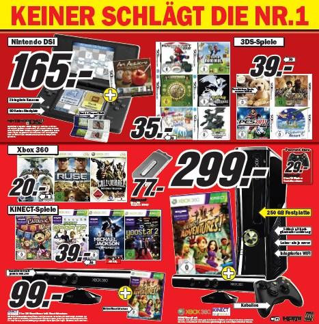 Neuer Media Markt Prospekt (Mai 2011) - alle Games-Angebote