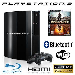 [PS3] Playstation 3 + Resistance 2 für 349€ bei IBOOD