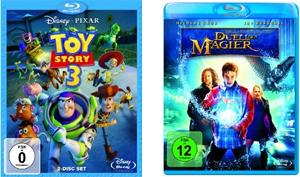 Toy Story 3 und Duell der Magier auf Blu-ray für je 10,97€