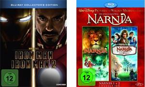 Iron 1+2 und Die Chroniken von Narnia 1+2 für je 17,99€