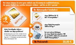 [Aktion] COMPUTER BILD Aktion: Gratis 1GB Handy-Internetpaket von Simyo