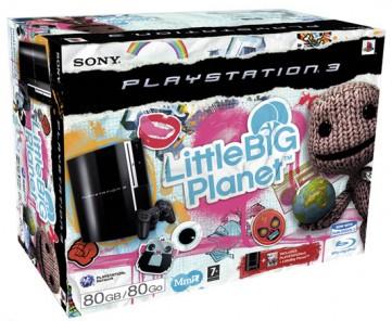 [PS3] Playstation 3 80GB Little Big Planet Bundle für 337€