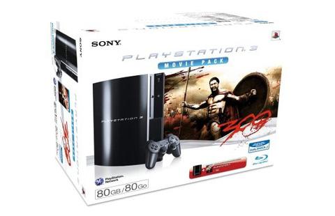 [PS3] Sony Playstation 3 + Blu-ray 300 für 309€