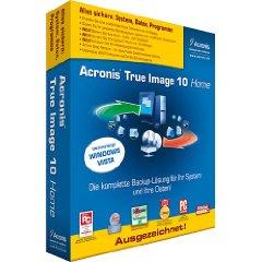 [Kostenlos] Acronis True Image 10 Personal Edition kostenlos downloaden