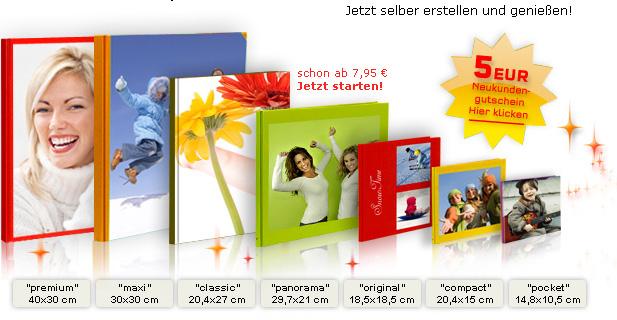 Kostenloses Fotobuch inkl. Versand von myphotobook
