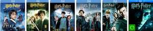 Harry Potter 1 - 6 Blu-ray Steelbooks für je 8,97€