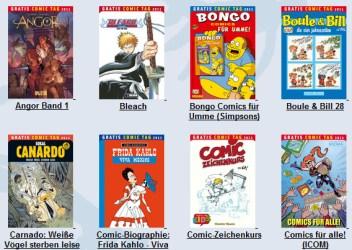 Gratis-Comic Tag 2011 - Comics auch online bestellen, mit gratis Versand