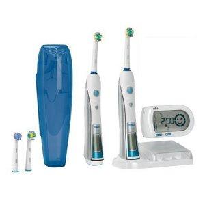 Elektrische Premium-Zahnbürste Braun Oral-B Triumph 5000 + 2. Handstück + 5 gratis Aufsteckbürsten für 116€ *UPDATE* jetzt für 111€